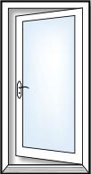 Single French Door
