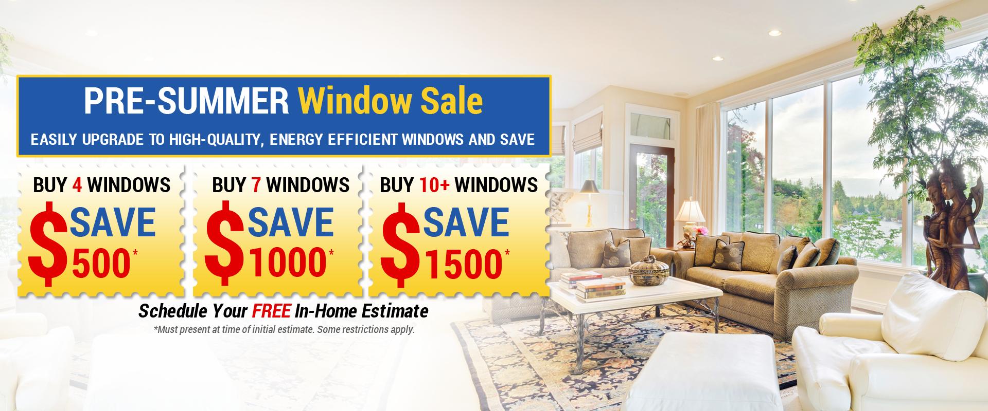 Window Door Replacement Sale Coupon Encino